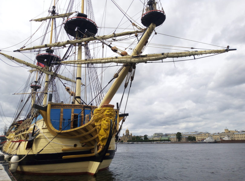 Корабль-музей «Полтава», Санкт-Петербург